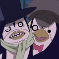 Penguin Zombie Duo Portrait