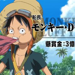 Kapitän Monkey D. Luffy, 300 Millionen ฿ Kopfgeld