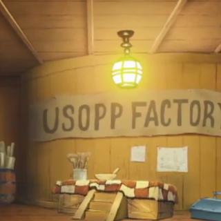 Il laboratorio di Usop