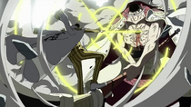 Borsalino Attacks Whitebeard