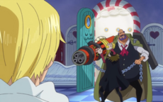 Gotty amenaza a Sanji