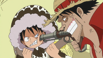 Luffy Meets Imposter Straw Hat Pirates