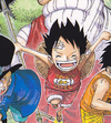Luffy Sebagai Anak Manga