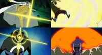 Luffy ivankov vs kizaru kuma