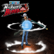 One Piece Burning Blood Trafalgar Law (Artwork)