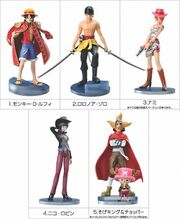 One Piece Styling Figures 3