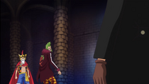 Sabo Confronts Bartolomeo and Luffy