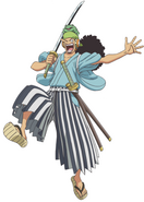 Usopp's First Appearance During the Wano Country Arc