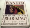 Bear King's Movie 9 Wanted Poster