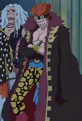 Eustass Kid Anime Pra Timeskip Infobox