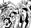Pandawoman en el capítulo 520a