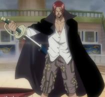 Shanks brandit son épée