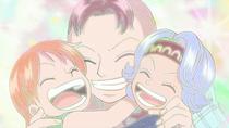 Bell-mère, Nami, dan Nojiko Bersama