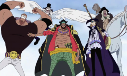 Blackbeard Pirates at Impel Down