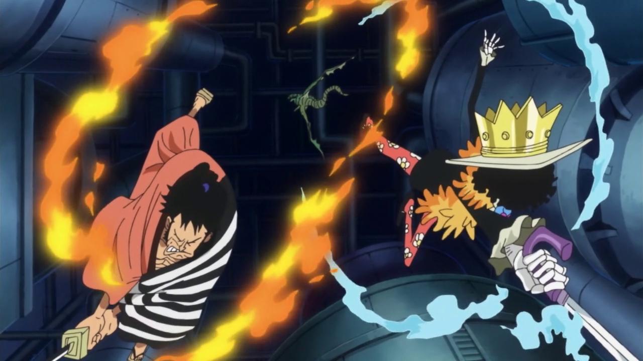 Image - Brook and Kin'emon Defeat Vegapunk's Second Dragon ...