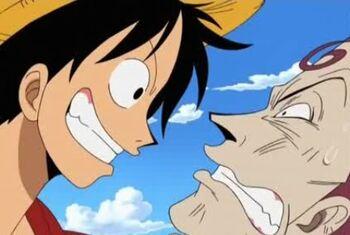 Monkey D. Luffy vs. Minchey