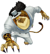 One Piece World Seeker Lucci Beast mode