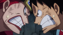 Rufy e Kidd irritati