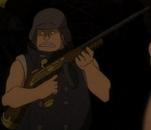 Неодозорный с пистолетом-пулемётом