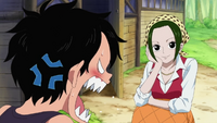 Ace Annoyed at Makino