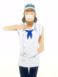 Komei as a Young Marine