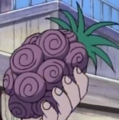 Bara Bara no Mi in Anime