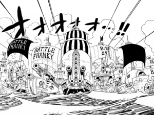 Battle Franky Manga Infobox