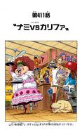 Coloreado Digital del Capítulo 411