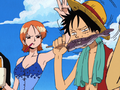 Dreamship Luffy mange un poisson