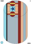 Franky Cylindrical Candy