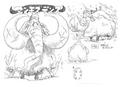 Mammouth Dense Concept Art
