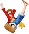 One Piece Unlimited World Red Luffy Saut