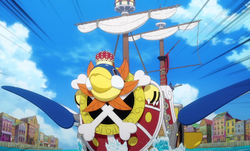 Thousand Sunny modificata