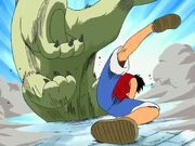 Luffy vs Richie