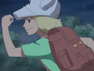 Dellinger at age 6 in anime