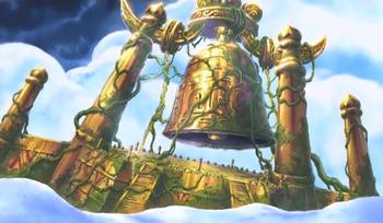 Shandorian Golden Belfry Bell