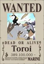 Toroi Wanted Poster