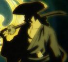 Силуэт Одэна в аниме
