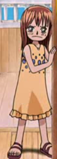 Adelle Wearing Nami's Clothes