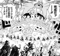 Bolo de Casamento Completo de Sanji