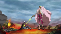 Doflamingo killing Law1