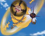 Guru Guru Tosaho Missile Girl Anime