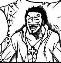 Mihawk laughs