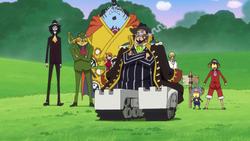 Bege si separa dai Pirati di Cappello di paglia