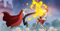 Luffy vs Sanji Infobox