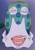 Sanji Speaking Through Crocodile's Personalized Den Den Mushi