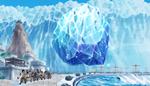 Jozu Hurls an Iceberg
