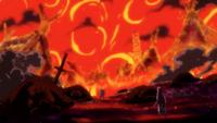 Linlin détruit le village d'Erbaf