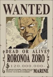 Zoro's Wanted Poster