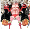 Franky's Film Z Appearance's Color Scheme in the Manga